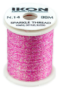 IKON Sparkle Thread FL Pink N.14