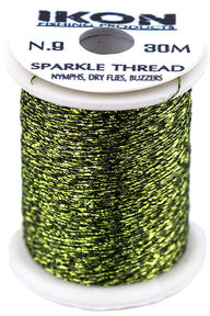 IKON Sparkle Thread Dark Olive N.9
