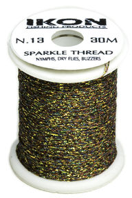 IKON SparkleThread  Green Brown N.13