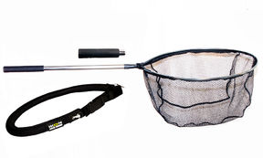 IKON Double landing net + landing net carrier
